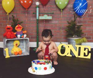 cake smash photographer long island
